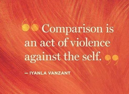 Change Comparison to Compassion
